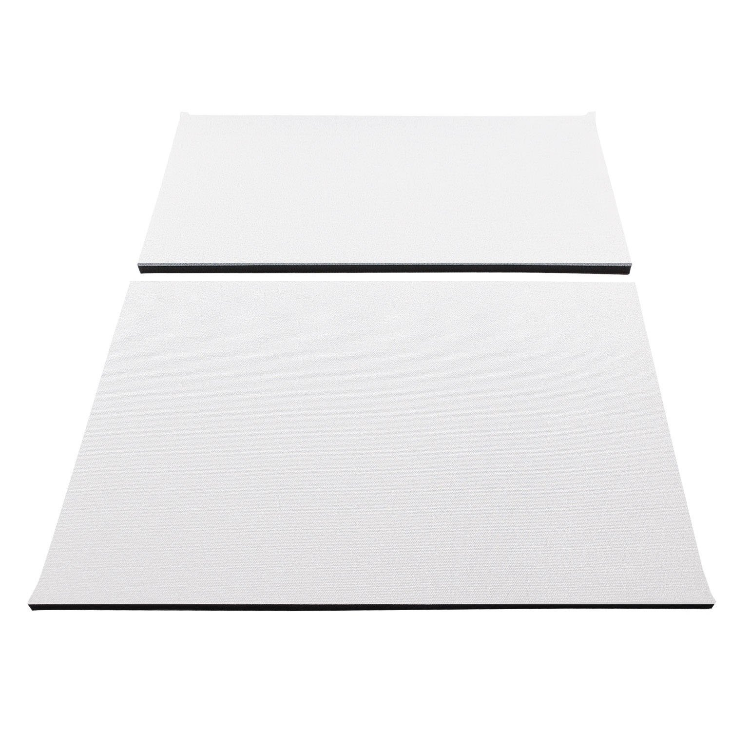 Design Engineering 050145 Boom Mat Sound Deadening Headliner for Jeep Wrangler with Factory Sound Bar (1997-2002) and TJ without Roll Bar Speakers (1997-2006) - White by Design Engineering