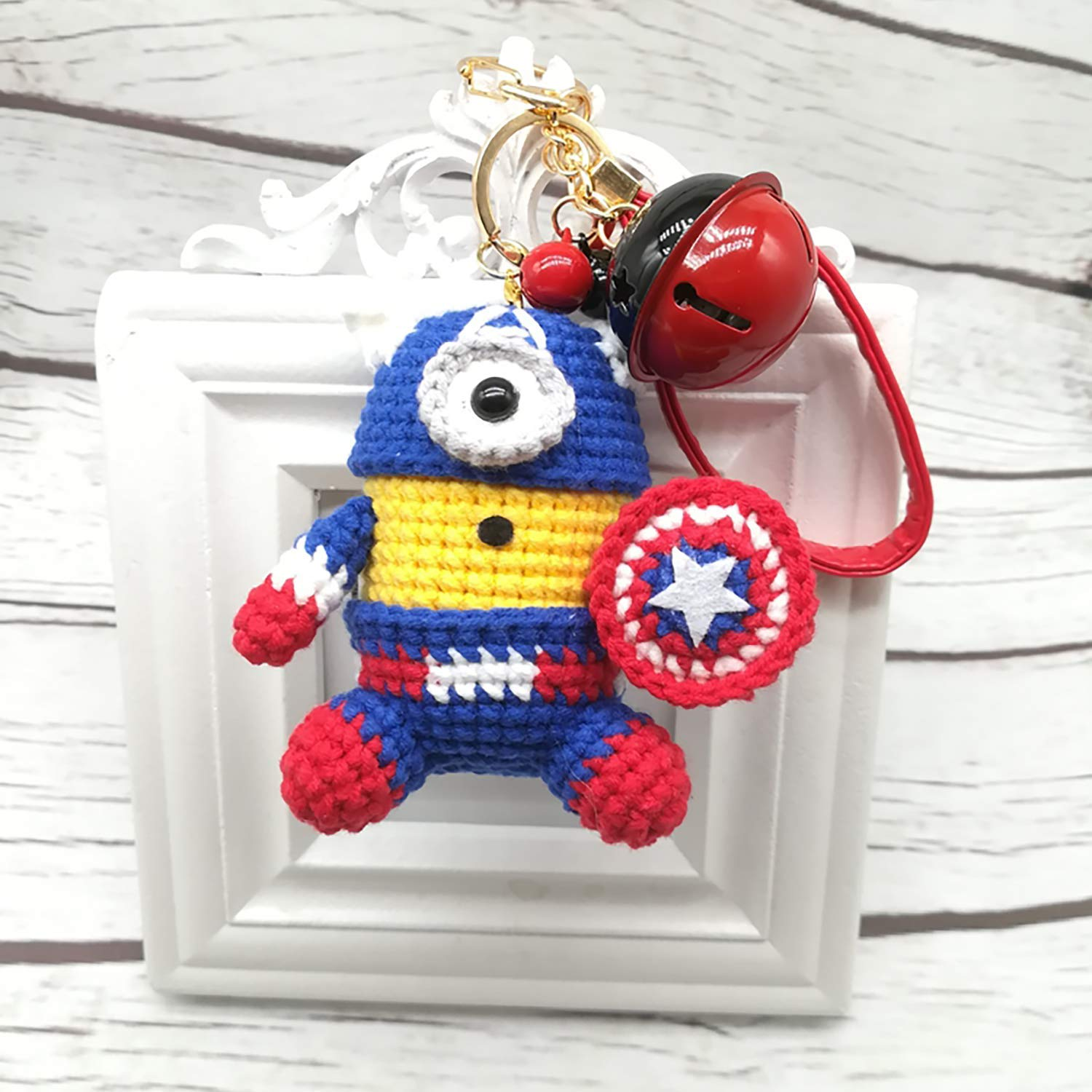 Little Yarn Friends • Crochet Pattern: Lil' Minion (Despicable Me) | 1500x1500