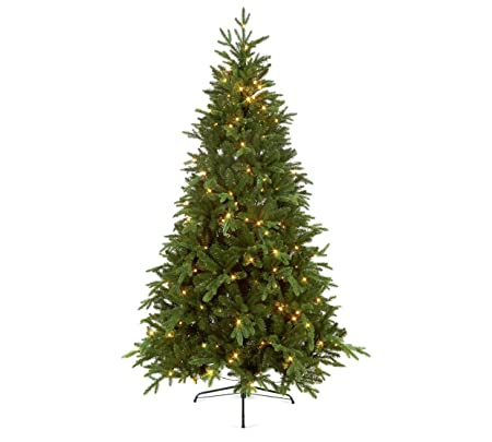 Chesterfield Christmas Tree with Easy Connect Lights - 7ft: Amazon.co.uk:  Kitchen & Home - Chesterfield Christmas Tree With Easy Connect Lights - 7ft: Amazon
