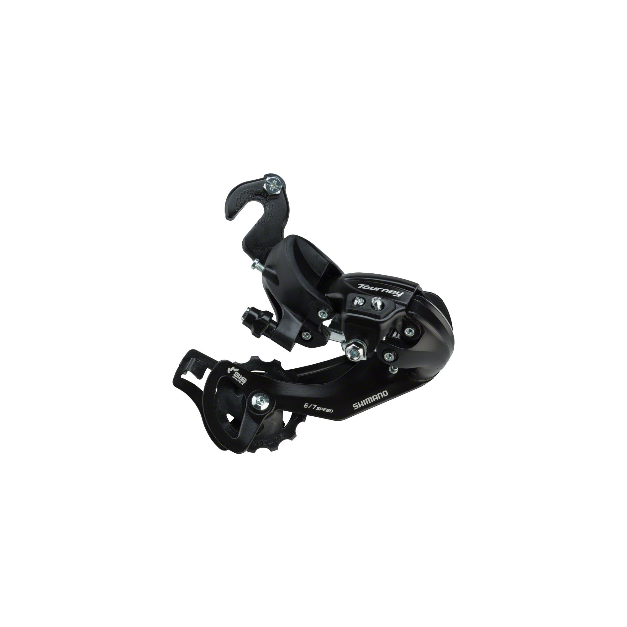 Shimano Tourney SGS 6/7-Speed Mountain Bicycle Rear Derailleur - RD-TY300-SGS ( 6/7-SPEED, W/RIVETED ADAPTER(BMX-TRACK)) by SHIMANO