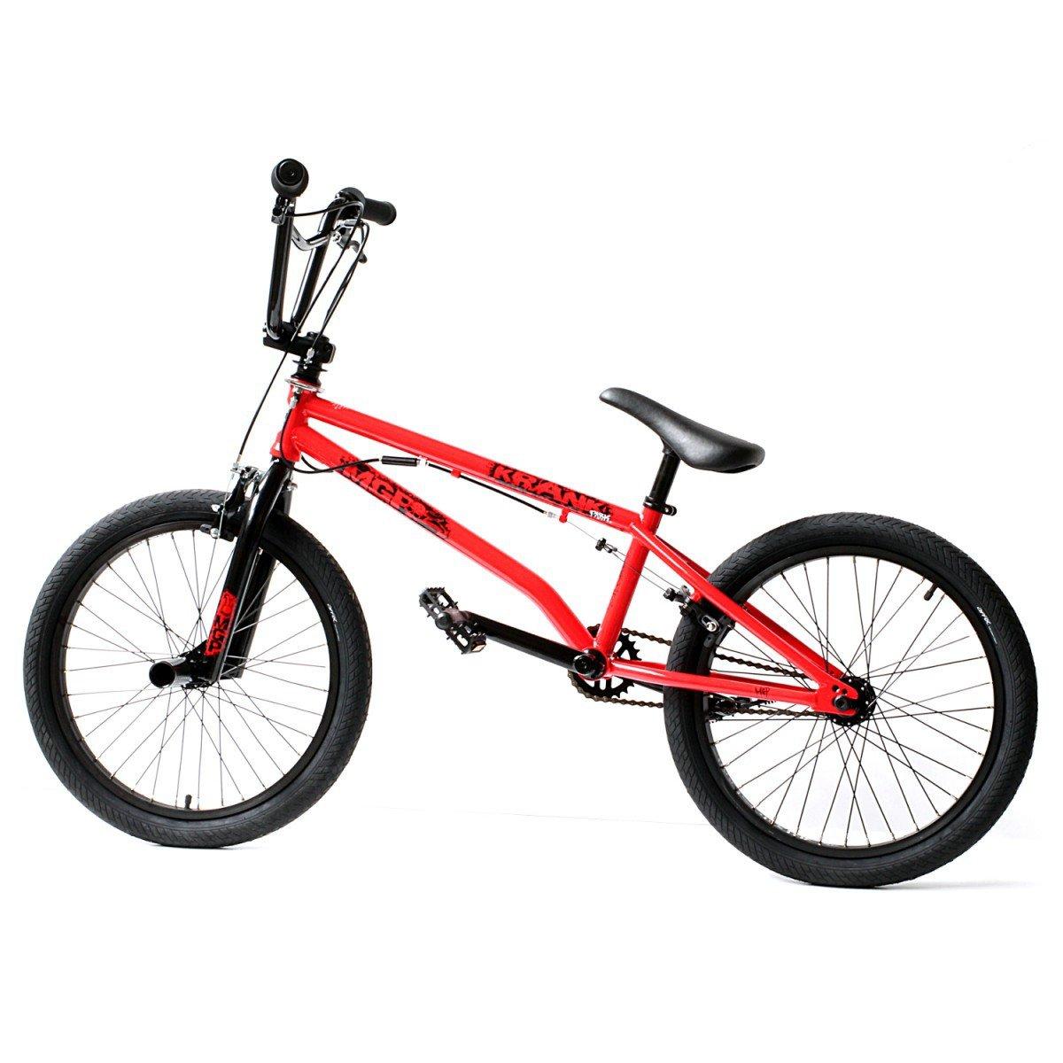Madd Mgp 20 Bmx Bike Krank Park Red 2012 Stunt Bike Amazon Co