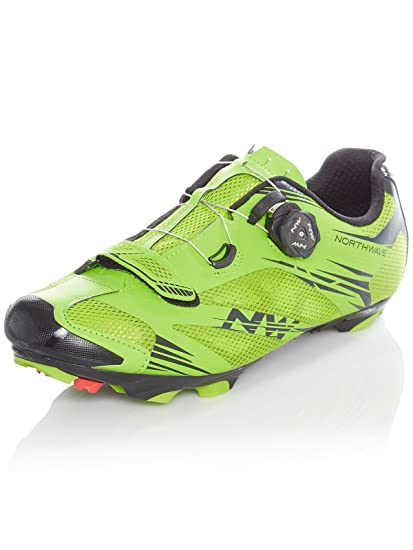 Northwave Scorpius 2 Plus MTB Fahrrad Schuhe grünschwarz