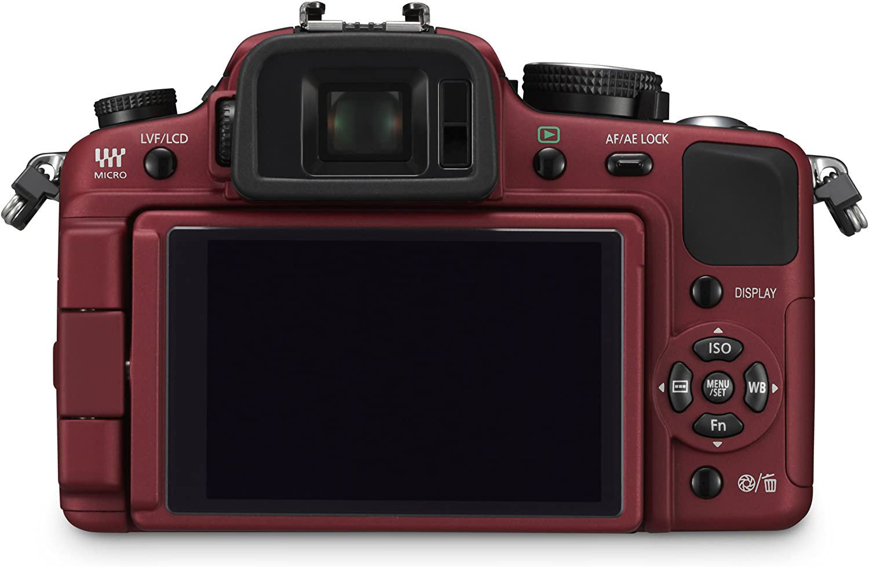 Panasonic Lumix Dmc G1k Slr Digitalkamera Rot Inkl Kamera
