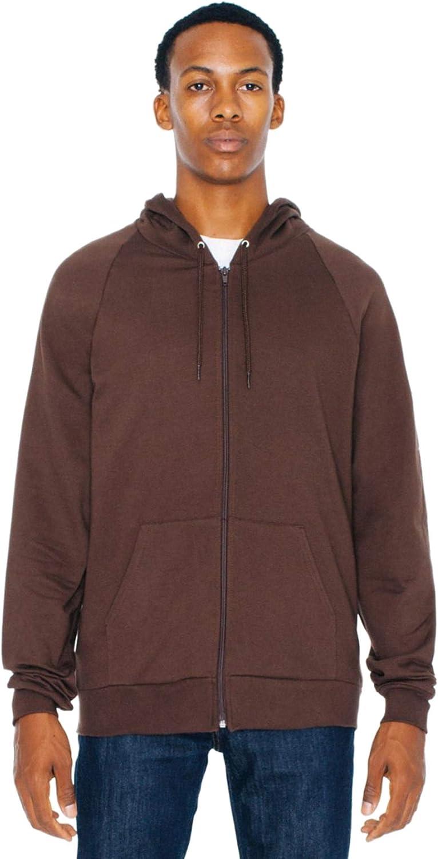 American Apparel Unisex Unlined Hood Full Zip Hoodie