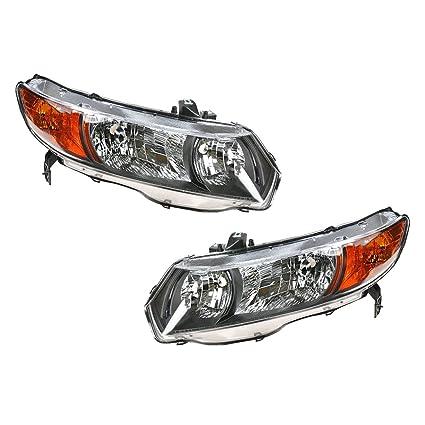 08 honda civic coupe headlights