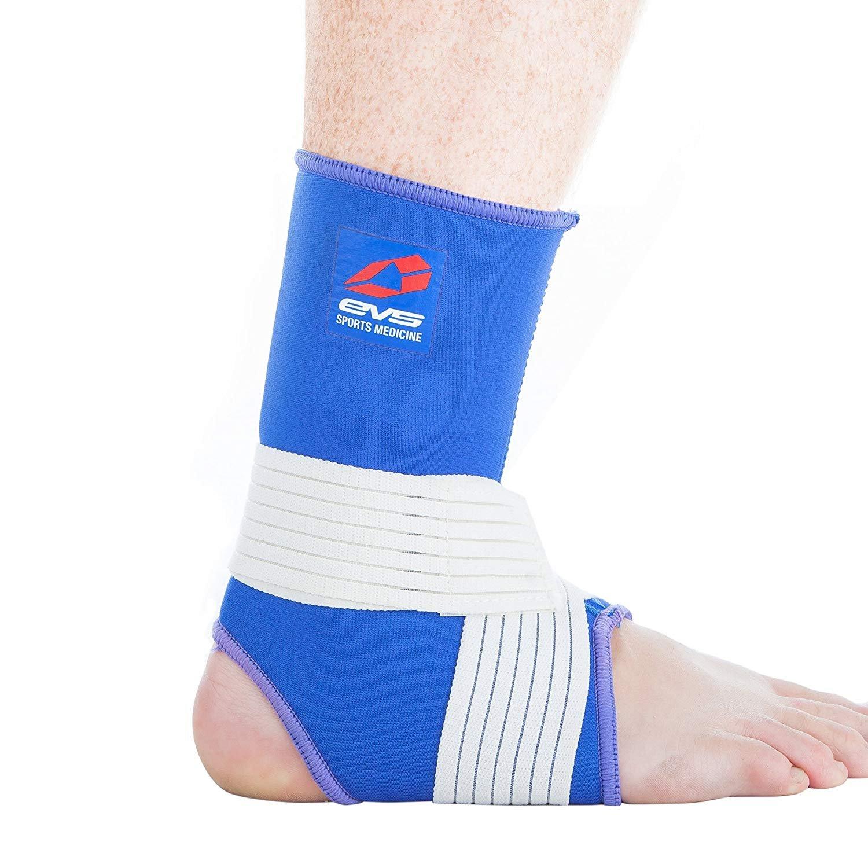 EVS Sports Unisex-Adult Neoprene Ankle Stabilizer (Blue, Medium)