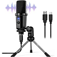 USB Microphone, Link Dream USB Plug & Play PC Computer Condenser Microphone for Streaming, Recording, Podcast, Voice…