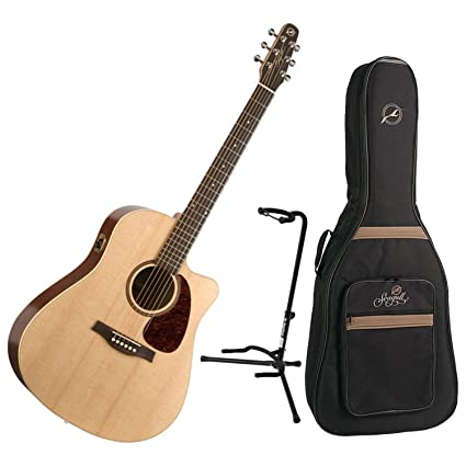 Musical Instruments & Gear Seagull Coastline S6 Slim Cw Acoustic Guitar Natural W/ Gig Bag Acoustic Electric Guitars