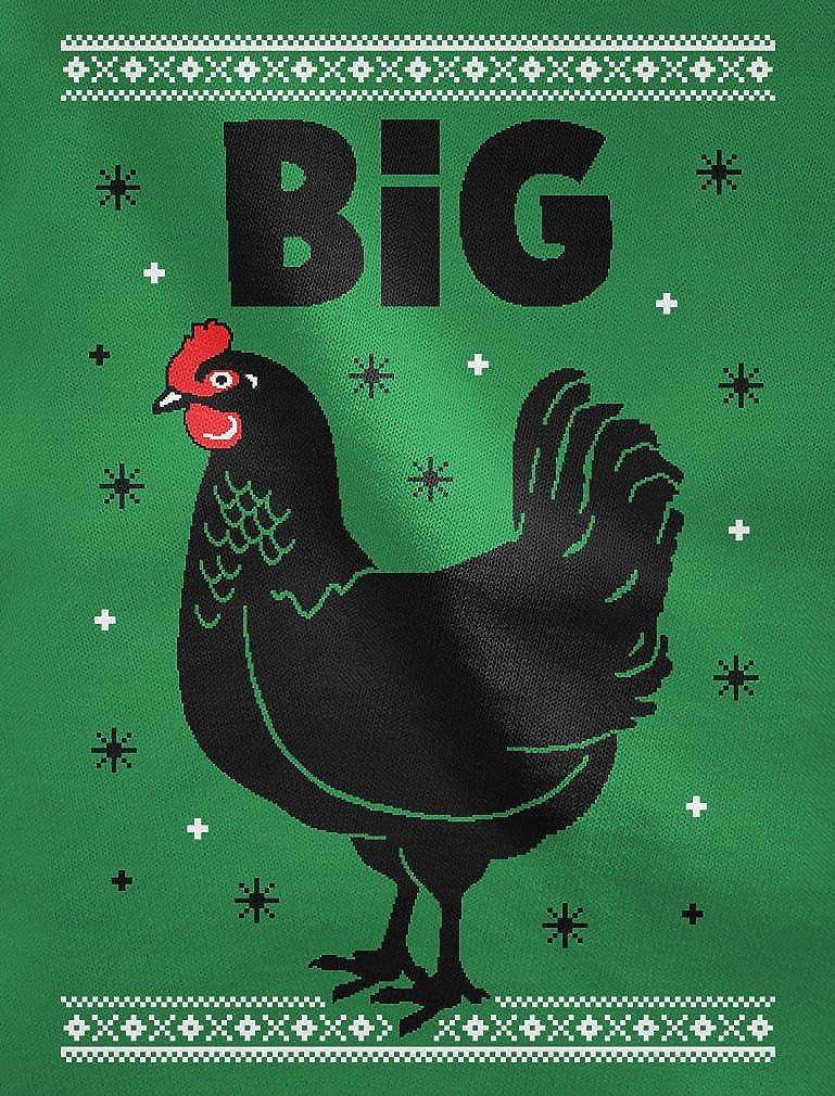 TeeStars Big Black Cock Funny Rooster Ugly Christmas Sweatshirt