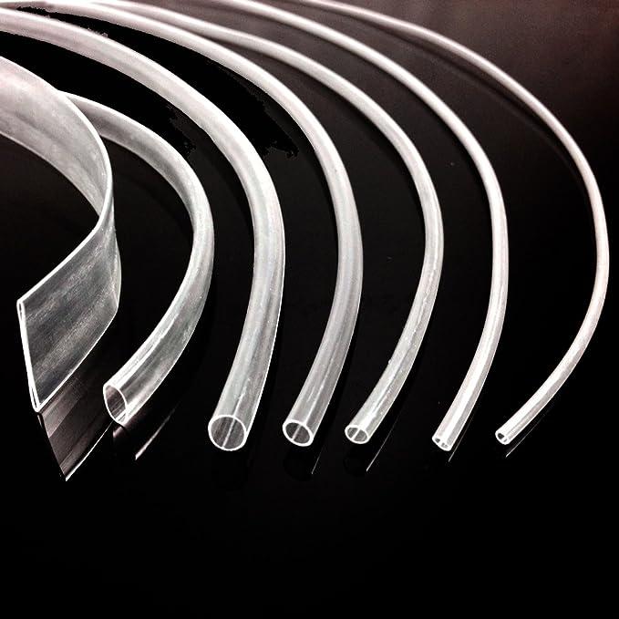 7 x 1 m transparent Iroda KIT TUBE 1.2, 1.6 mm de 2,4 mm, 3,2 mm, 4,8 mm et 6,4 mm 9,5 mm &HEATSHRINK TUBE PaCK-KIT gaine