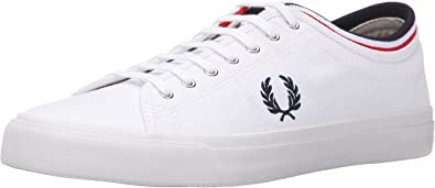 Kendrick Tipped Cuff Canvas Sneaker
