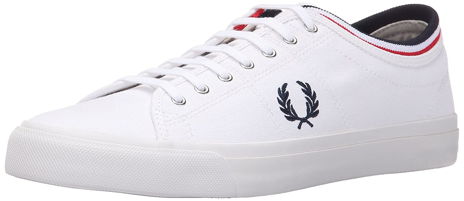 83b0a18ce4 Amazon.com: Fred Perry Kendrick Tipped Cuff Canvas Sneaker: Shoes