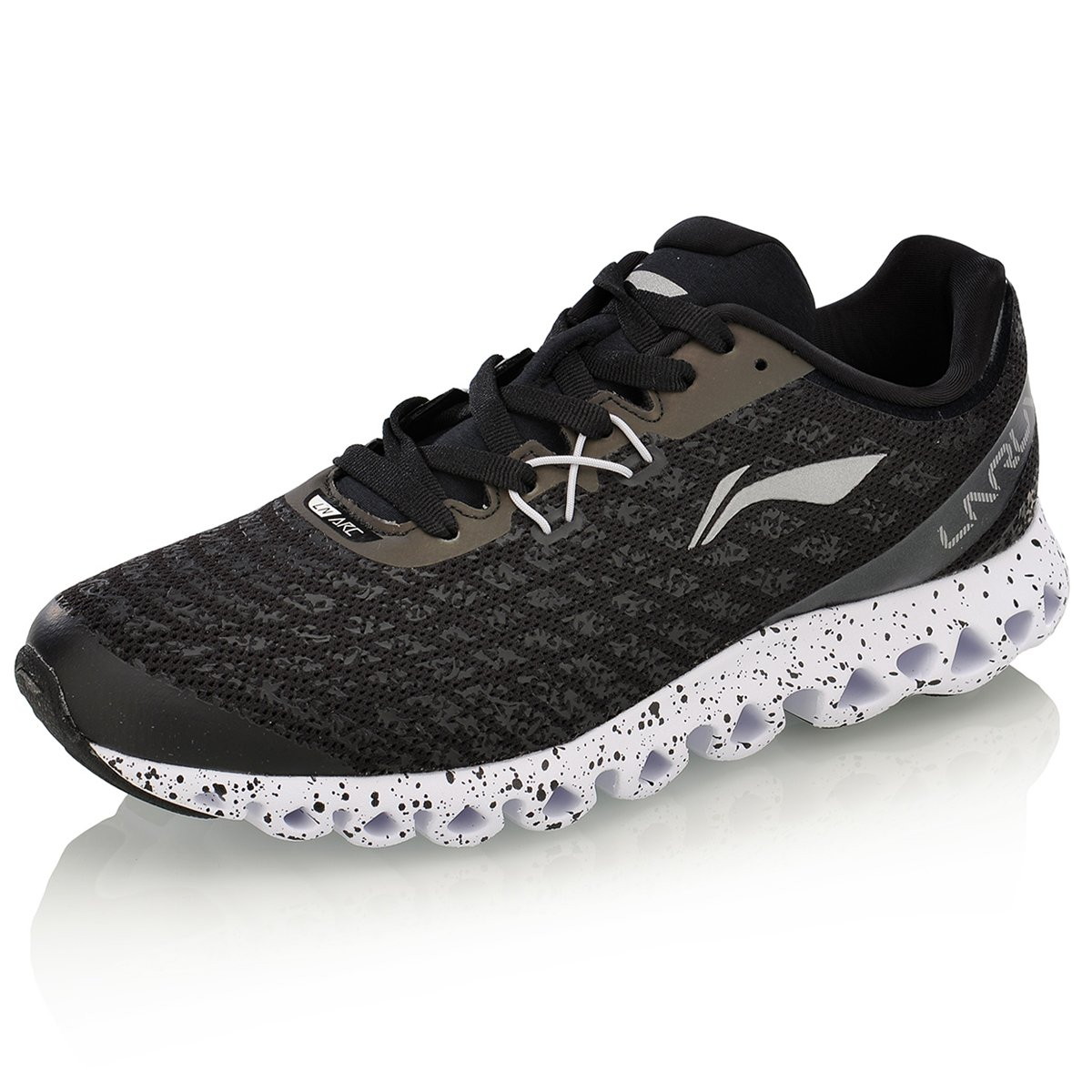 fea63e309381f LI-NING Men Running Arc Cushion Sneakers Sports Shoes
