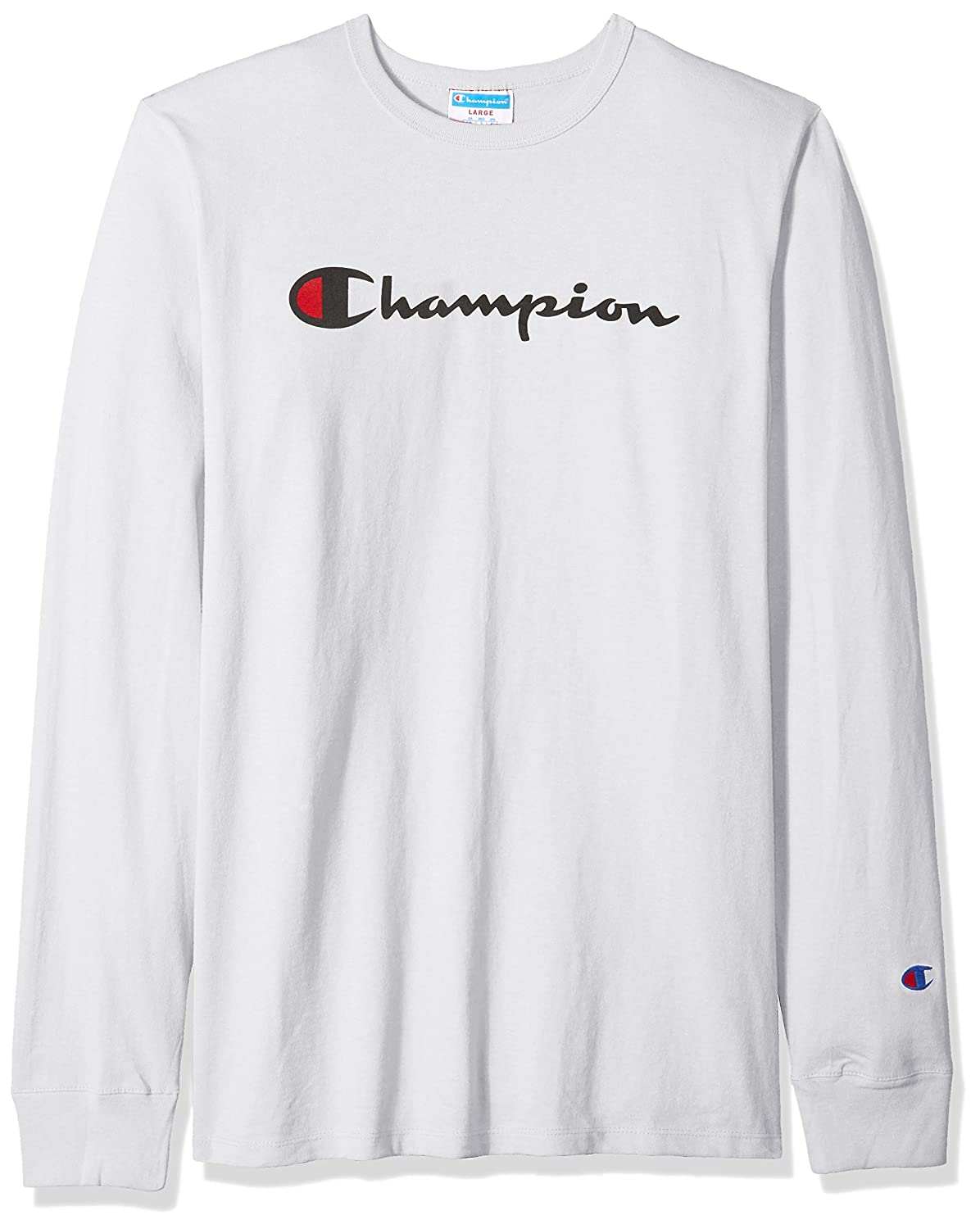 47d0a5ea Amazon.com: Champion LIFE Men's Heritage Long Sleeve Tee: Clothing