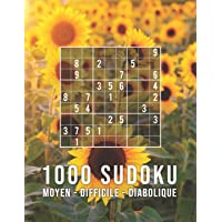 SUDOKU 1000: moyen - difficile - diabolique: Jeu Classique | Collection XXL | Pour Les Génies | Avec Solutions