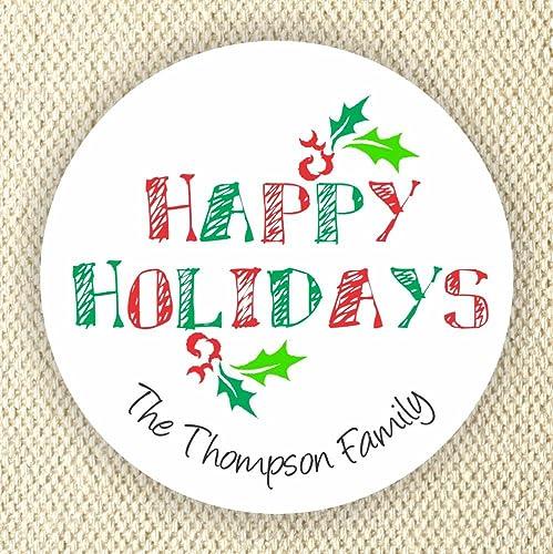 amazon com holidays address labels holidays stickers christmas