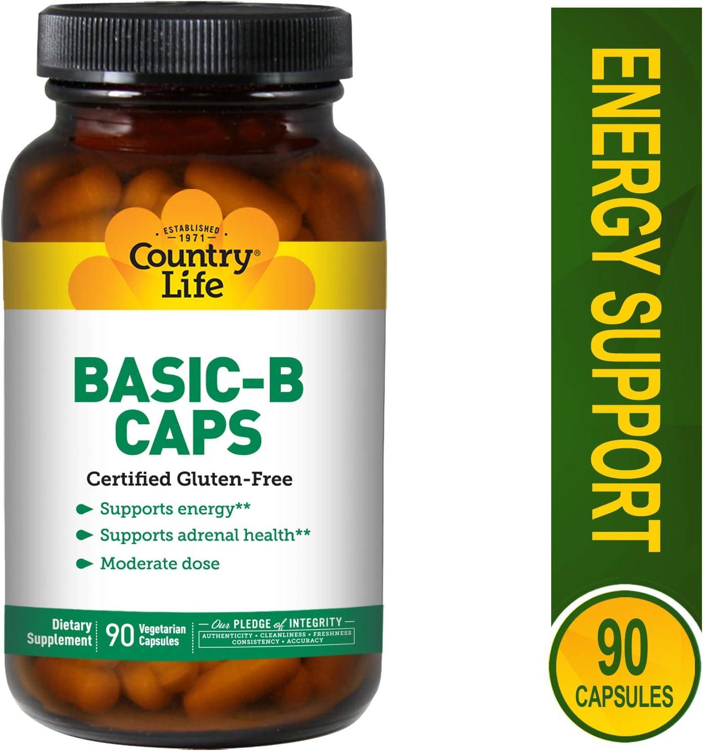 COUNTRY LIFE Vitamins Basic B, 90 VCAP