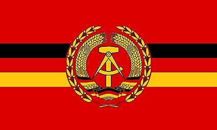 Diplomat Flagge Dienstflagge Für Kampfschiffe Und Boote Der Volksmarine Der Deutschen Demokratischen Republik Querformat Fahne 0 06m 20x30cm Für Flags Autofahnen Garten