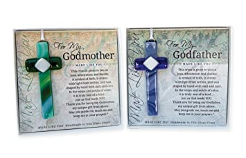 Amazon.com: Grandparents Gifts Handmade Cross Gift Set for ...