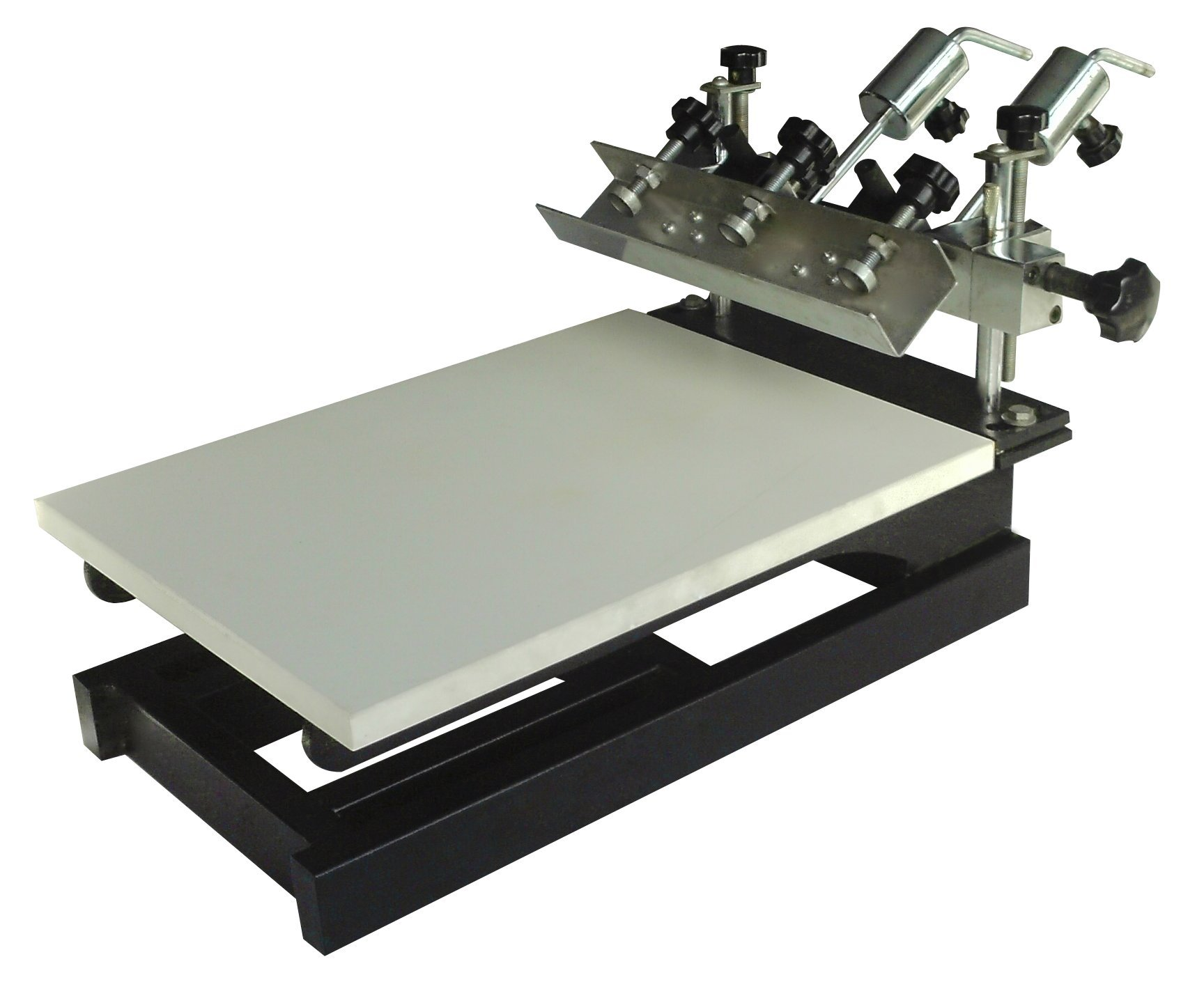 One Color Screen Printing Press Micro-registration Screen Printer T-shirt Printing Machine by Screen Printing Equipment
