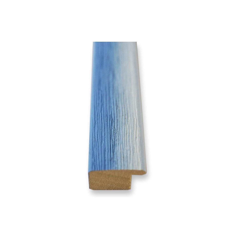 Online Galerie Bingold Bilderrahmen Hell Blau Weiß 30 30 x 30 Weiß cm 30x30 - Modern, Shabby, Vintage - Alle Größen - handgefertigt in Deutschland - WRP - Pinerolo 2,3 ffdfdf