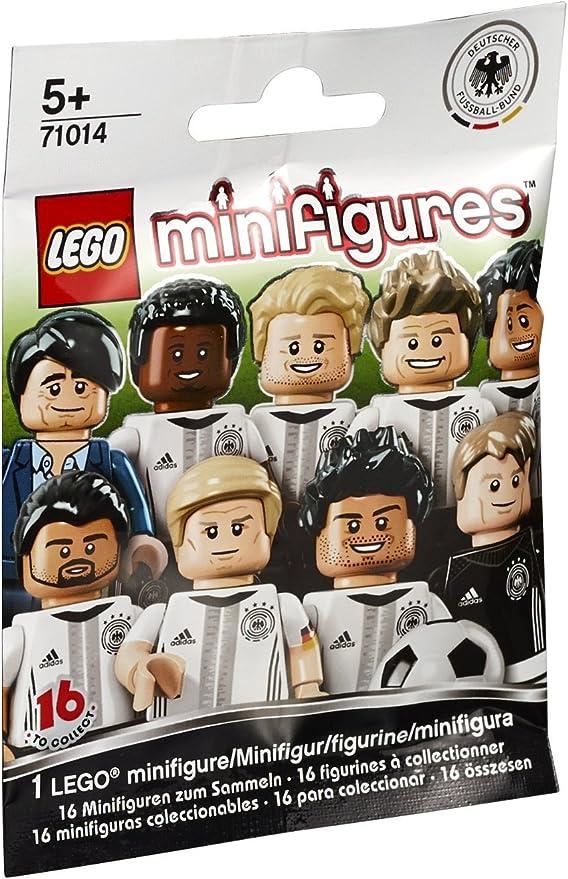 4 NUOVO /& OVP CALCIO LEGO 71014 personaggio DFB la squadra Benedikt Höwedes n