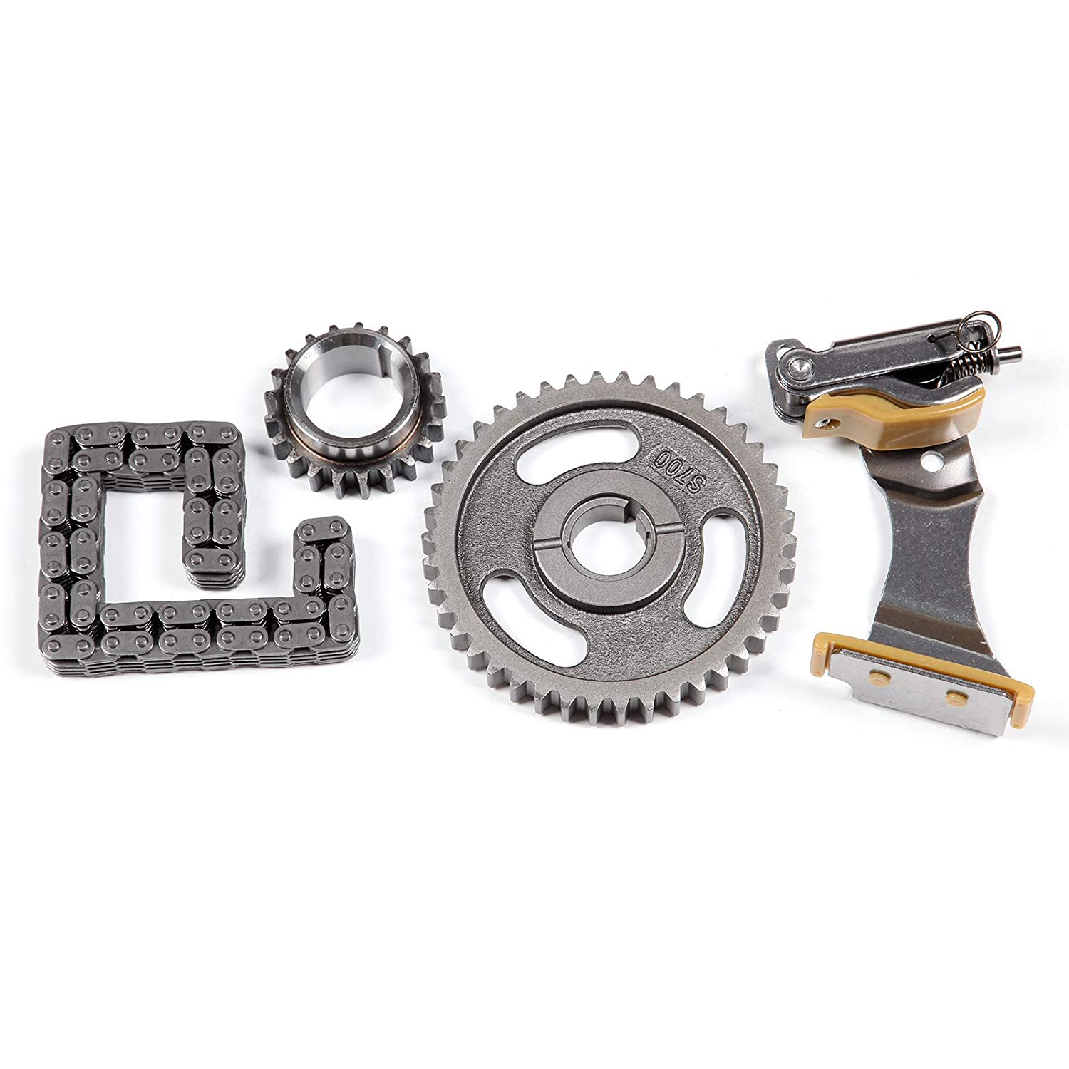 V6 Gas OHV Naturally Aspirated AUTOMUTO Timing Chain Parts fits for 2003 Ford E-150 4.2L 256Cu in
