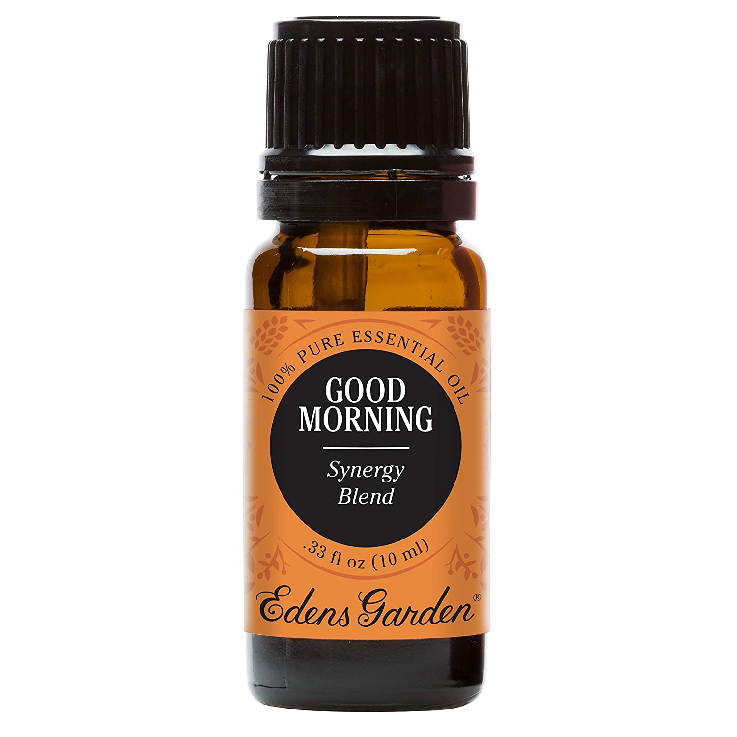 Edens Garden Good Morning Essential Oil Synergy Blend, 100% Pure Therapeutic Grade (Highest Quality Aromatherapy Oils- Energy & Stress), 10 ml