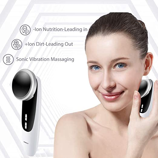 Amazon.com: Facial Massager Device for women, Portable Facial Firming Massage Tool for Wrinkle Removal Anti Aging Skin Tightening Rejuvenation Face Beauty Kit: Beauty