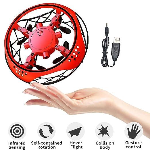 OVNI Flying Ball Toy Drones, Mini RC Drone Controlado A Mano ...