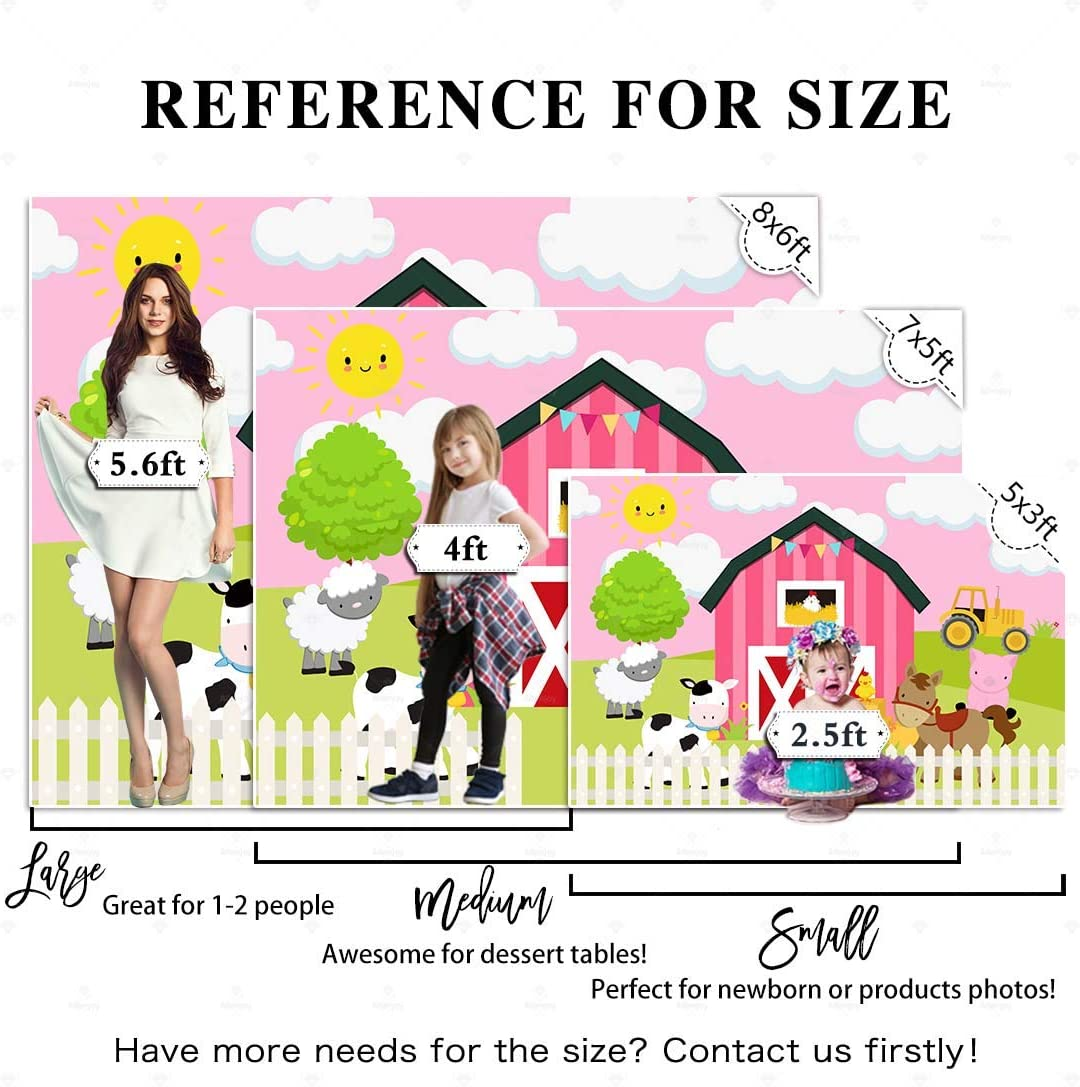 8x12 FT Word Search Puzzle Vinyl Photography Backdrop,Cartoon Style Farm Animals Cute Happy Country Life Theme Squares Numbers Background for Photo Backdrop Baby Newborn Photo Studio Props
