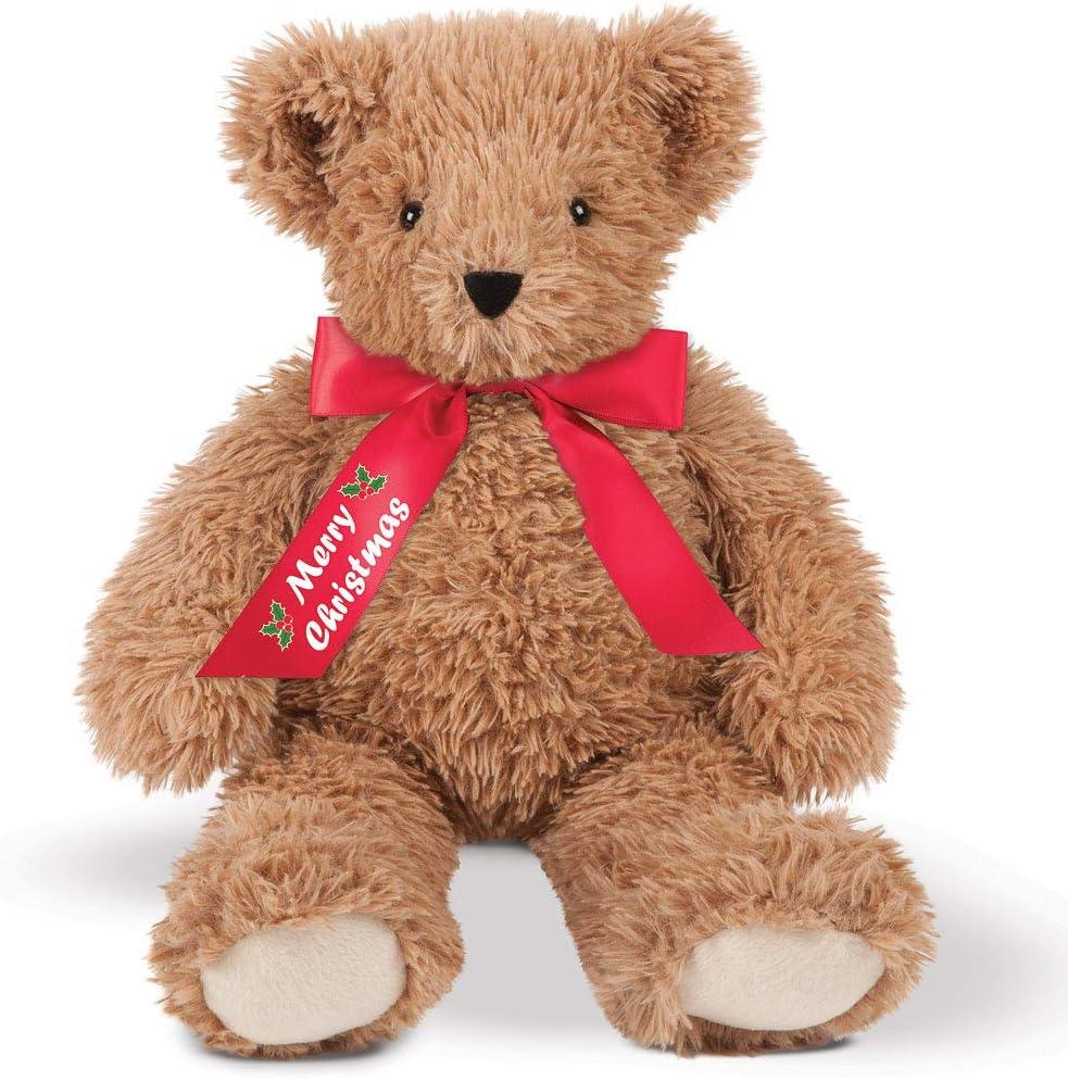 Vermont Teddy Bear Christmas Bears - Christmas Teddy Bear, Super Soft, 18 Inch