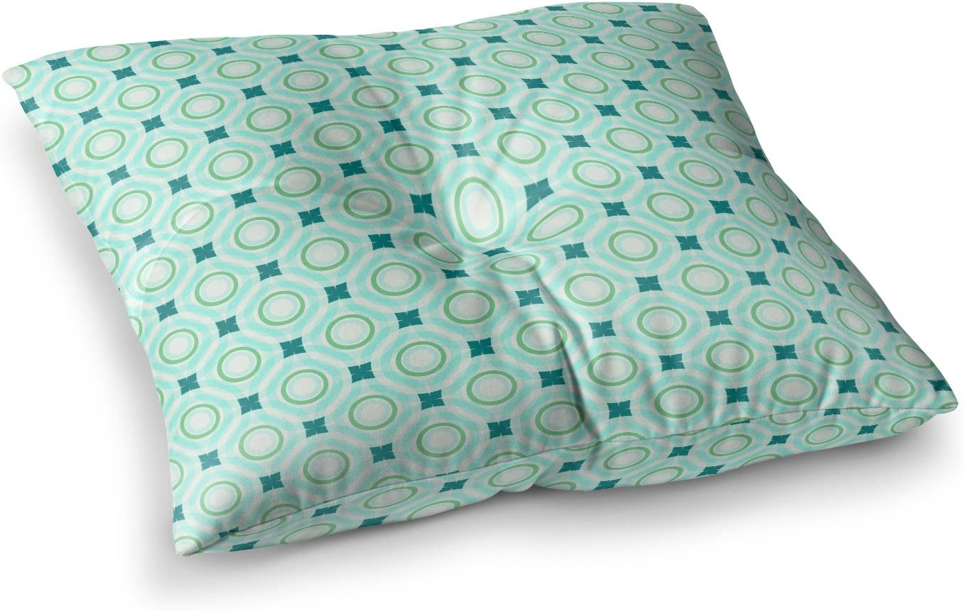 23 x 23 Square Floor Pillow KESS InHouse Catherine McDonald Tossing Pennies