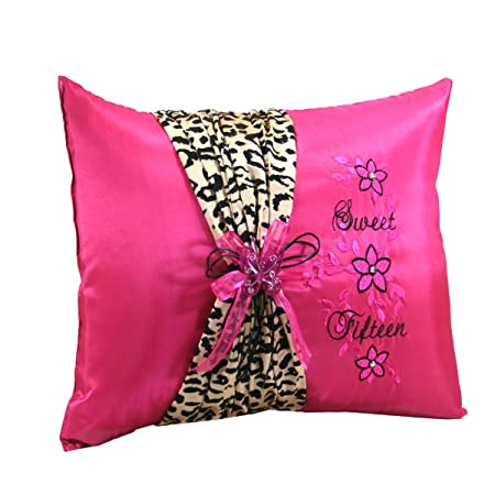Amazon Mis Quince Choose From Quinceanera Bible Photo Album Guest Book Pillow Q3091 Spanish Kitchen Dining
