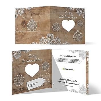 Weihnachtskarten Business.10 X Lasergeschnittene Weihnachtskarten Firmen Geschäftlich Business