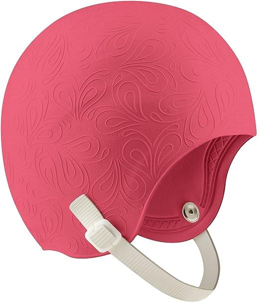 Speedo Adult Latex Aquatic Fitness Chin Strap Swim Cap