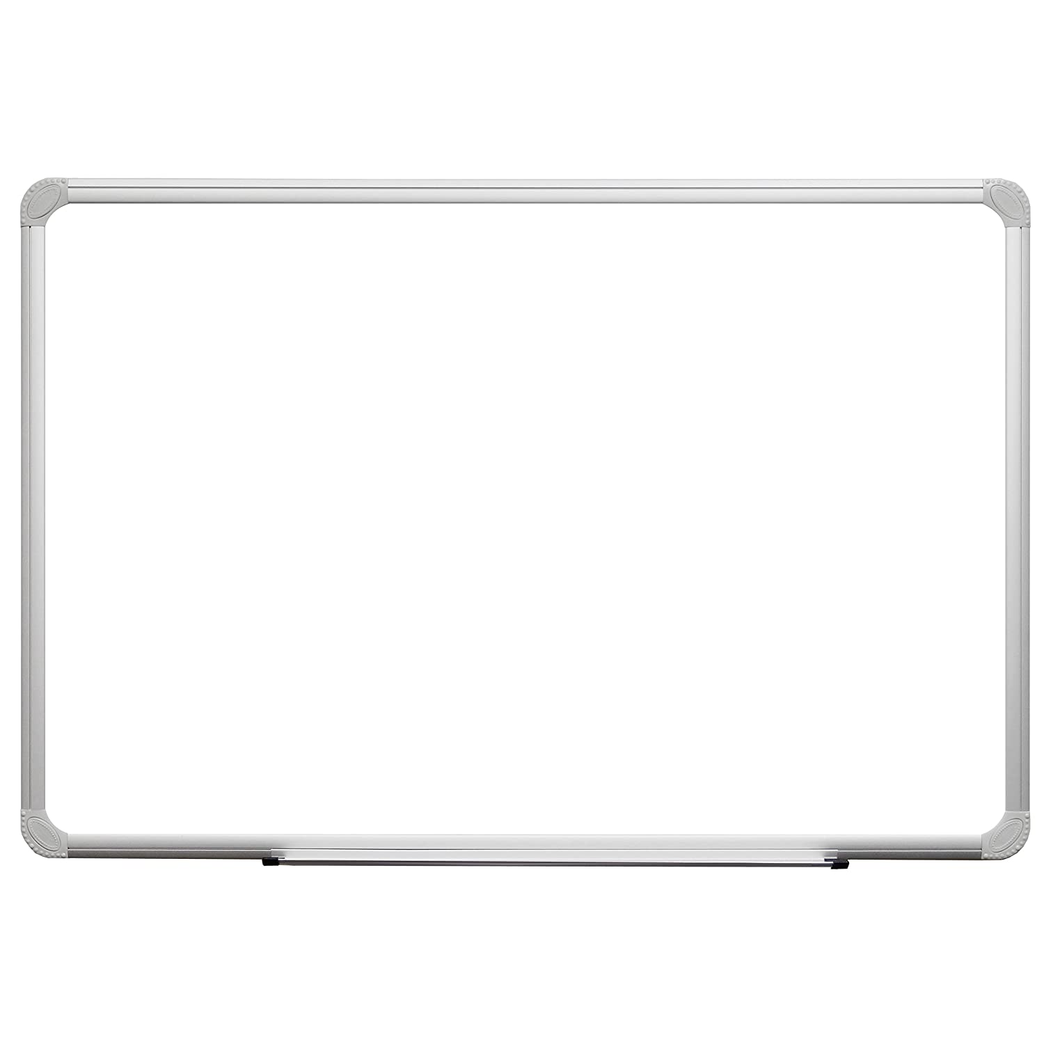 36 x 24 White Melamine Dry Erase Board with Aluminum Frame and Marker Tray Superior Essentials 24X36_WHITEBOARD
