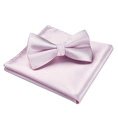 New formal men/'s necktie /& hankie set solid color polyester wedding dark purple
