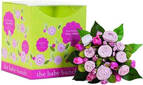 Baby Clothes Bouquet Bunch Baby Pink