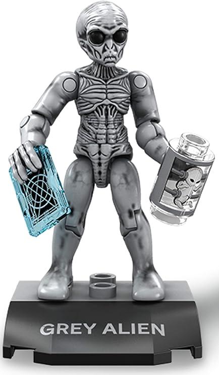 Mega Construx Heroes Series 5 X-Files Grey Alien