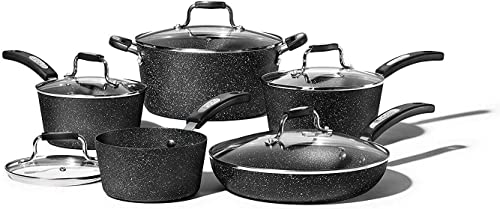 Premium Nesting Pots and Pans for RV (Cookware Set) [Starfrit] Picture