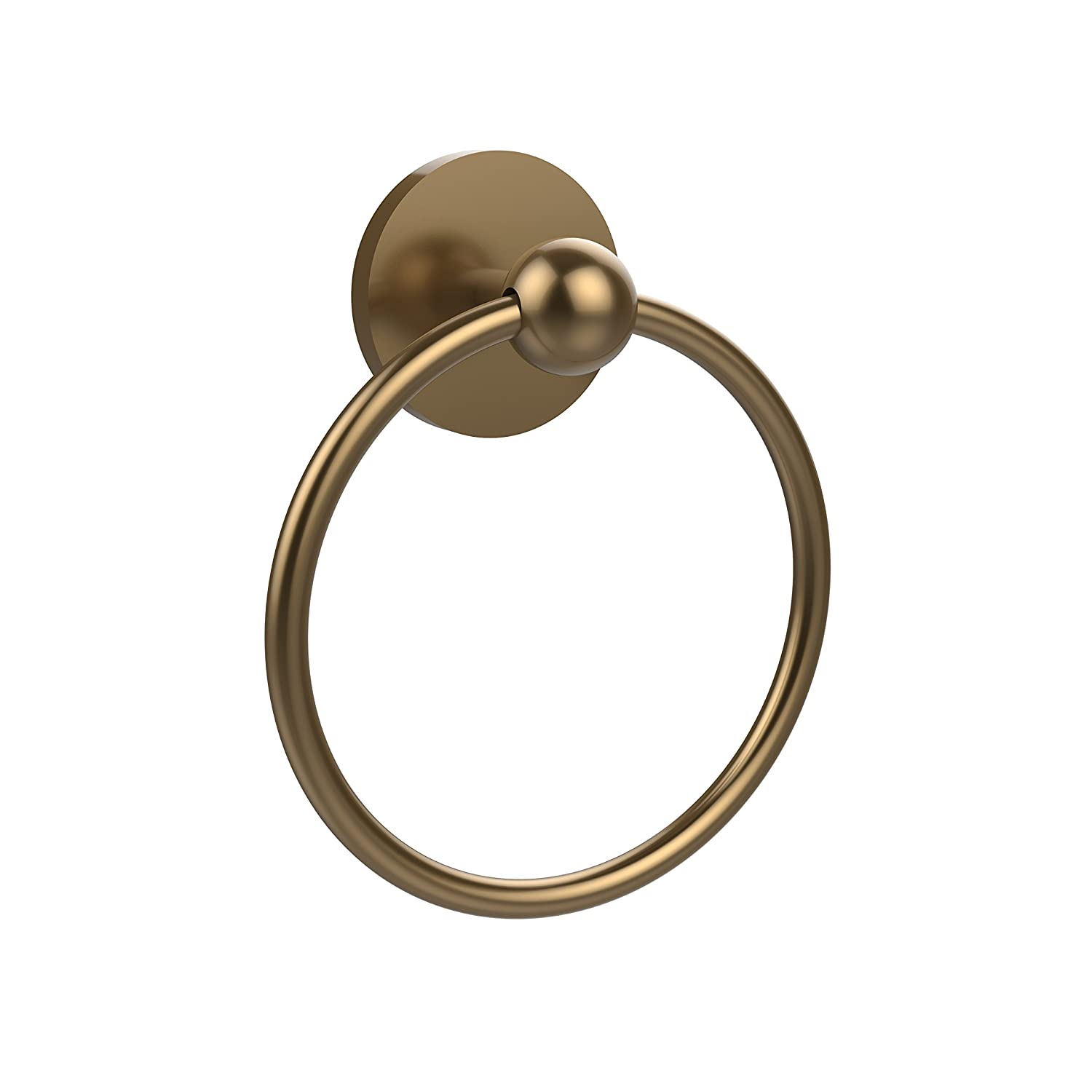 Allied Brass P1016-BBR 6-Inch Towel Ring, Brushed Bronze by Allied Brass B008NYT4OS つや消しブロンズ つや消しブロンズ