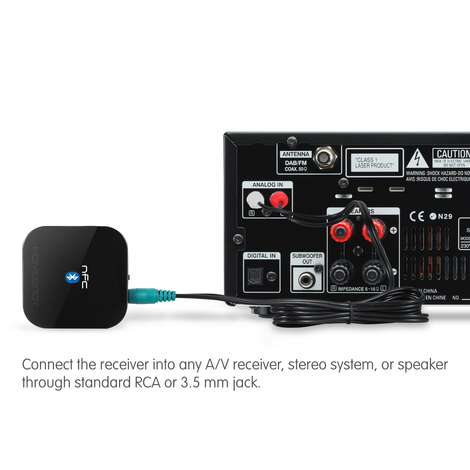 Hook Up Echo Dot To Receiver