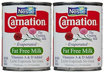 Carnation Evaporated Milk Can-Fat Free-12 Oz-2 Pack