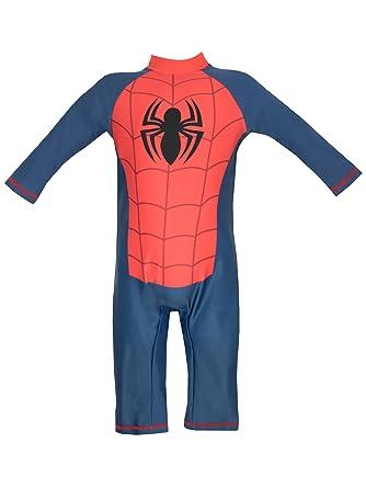 Spiderman - Traje de baño para niño - Spider man - 6 a 7 Años