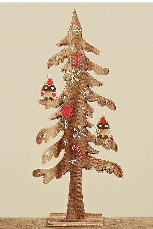 Alberi Di Natale In Legno Amazon.Decorazioni Di Natale Albero Albero Di Natale In Legno Con
