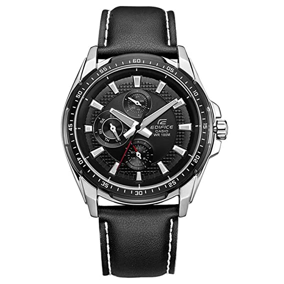 Casio EF-336L-1A1VDF - Reloj (Reloj de pulsera, Acero inoxidable,