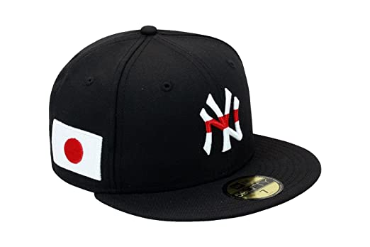 newest collection 3e9da ea3d3 ... buy new era 59fifty new york yankees authentic baseball country flag  fitted hat cap japan flag