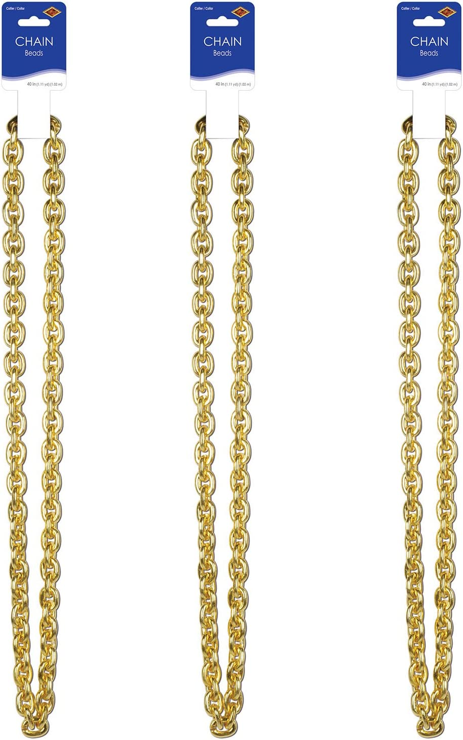 Chain Beads Gold Party...