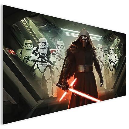 LagunaProject Marrón Star Wars Kylo Ren y soldados Fantasía Acrílico decorativo de cristal, acrílico,
